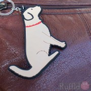 Dog Key Ring - Golden Retriever Design