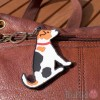Dog Key Ring - Jack Russell Design
