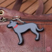 Dog Key Ring - Lurcher Design