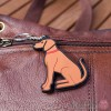 Dog Key Ring - Vizsla Design