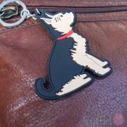 Dog Key Ring - Yorkshire Terrier Design