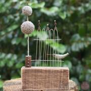 Wire Sculpture - In the Garden