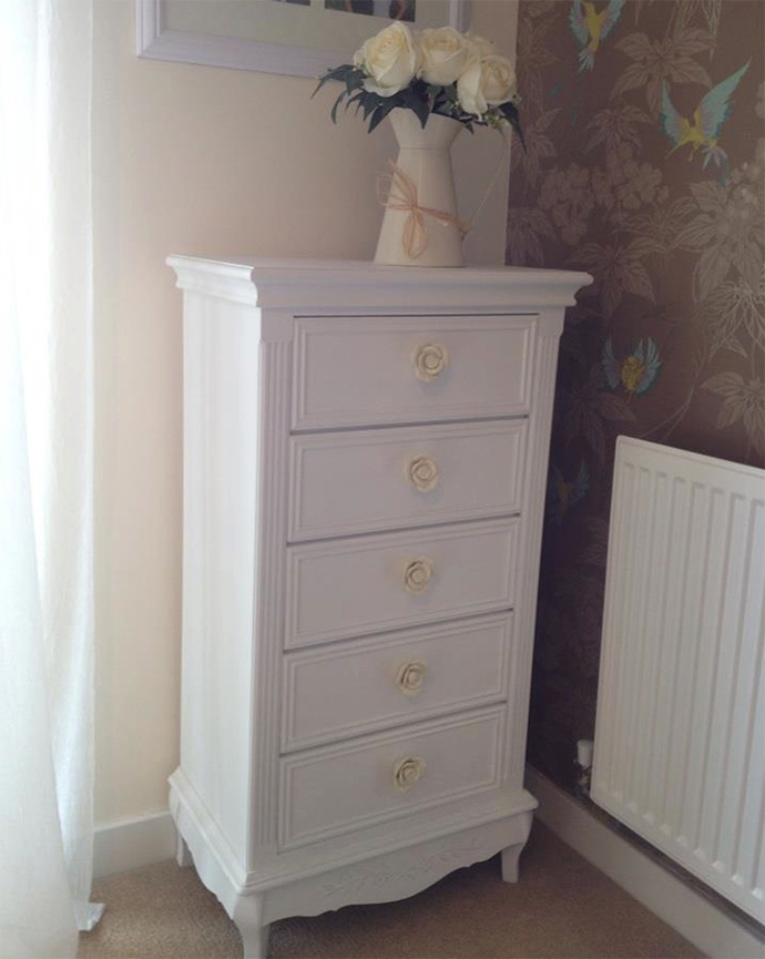 How To Transform An Old Chest Of Drawers
